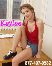 Phonesex with Teen Kaylee 1-877-497-0582